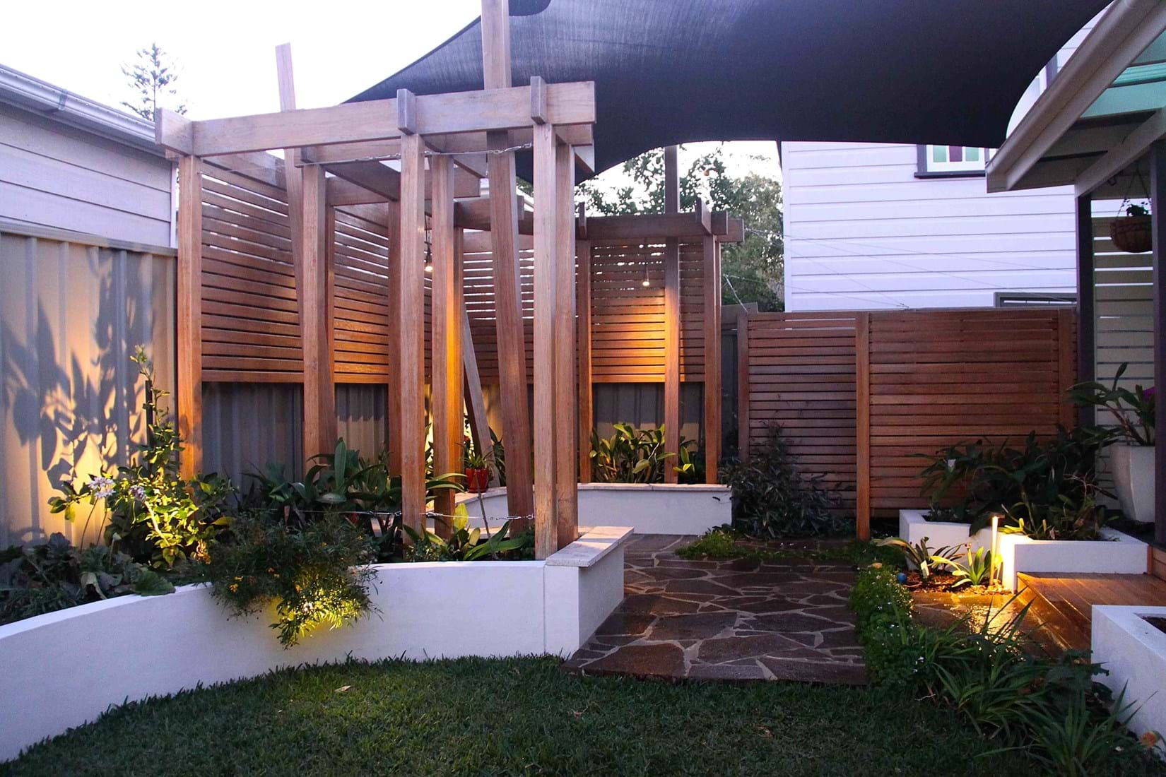 Dirty Girl Designs Landscape design for contemporary residential